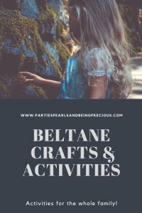 Beltane Crafts and Activities Pinterest Image