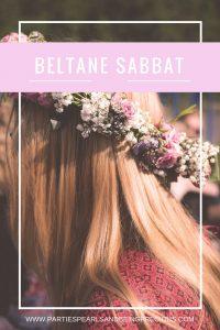 Beltane Sabbat Pinterest Image