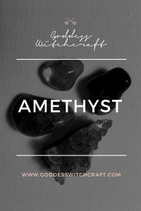 Amethyst Crystal Pinterest Image