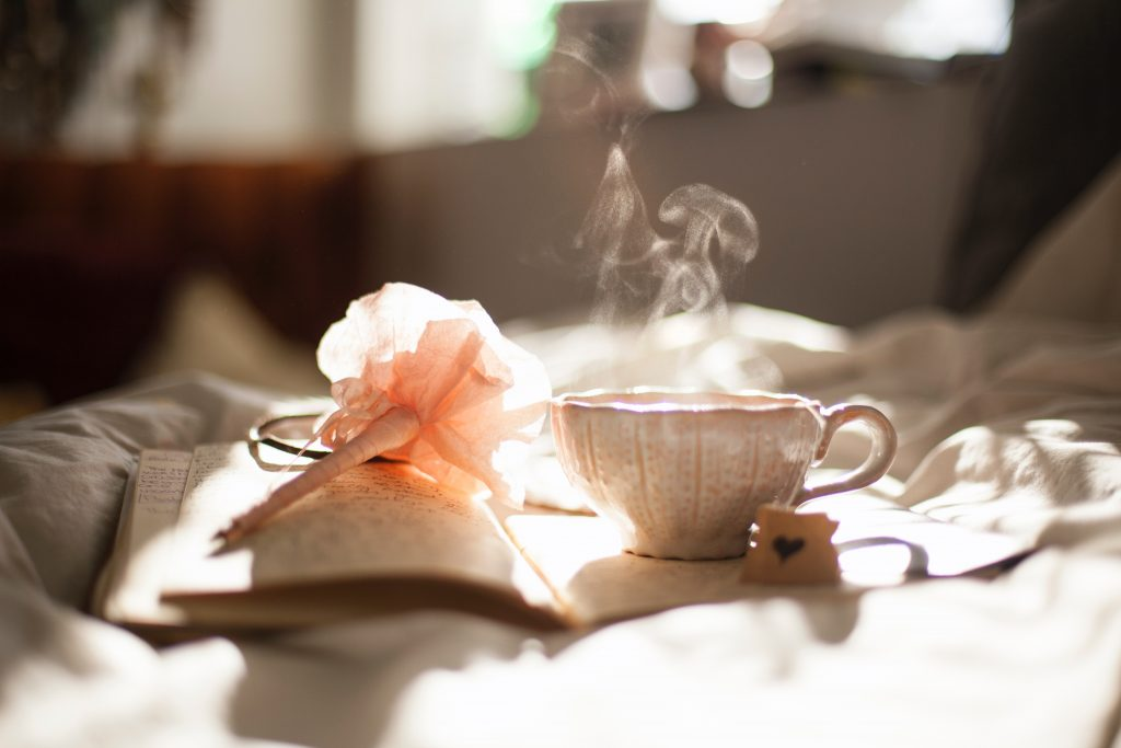 Book of Shadows and a cup of tea