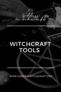 Witchcraft Tools Pinterest Graphic
