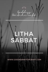 Litha Sabbat Pinterest Graphic