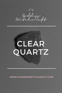 Clear Quartz Pinterest Image