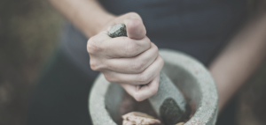 General Healing Spell - Mortar and Pestle