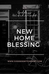 New Home Blessing Pinterest Image