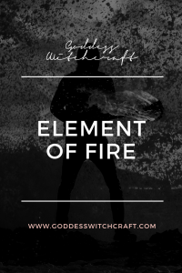 Element of Fire Pinterest Graphic