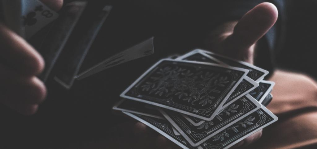 Tarot Spreads for Beginners - Tarot Deck being shuffled