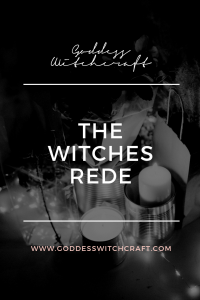 The Witches Rede Pinterest Graphic 1
