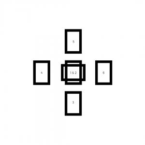 Tarot Spreads for Beginners - Half Celtic Cross