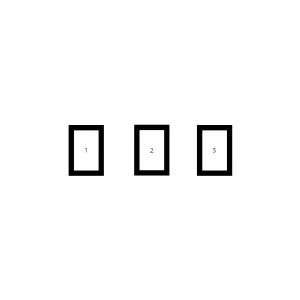 Tarot Spreads for Beginners - Three Card Spread
