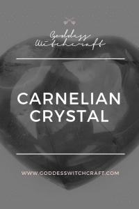 Carnelian Crystal Pinterest Image