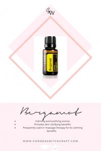 Bergamot Essential Oil Pinterest Graphic